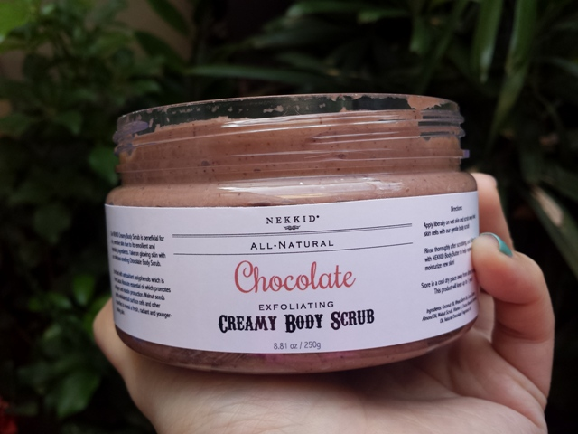 Creamy Body Scrub in Chocolate